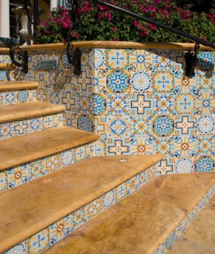 Stair Riser Styles from Spain, Portugal, and North Africa