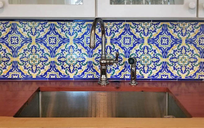 Tile Risers & Backsplash—Compliments from Everyone