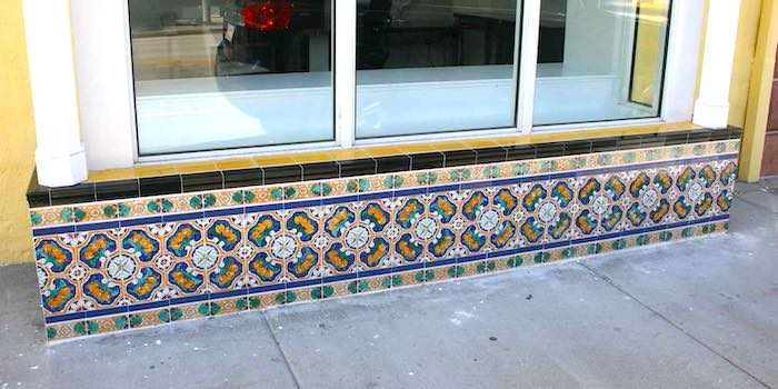 Wells Fargo Bank tile work refurbished by Mizner Tile Studio.
