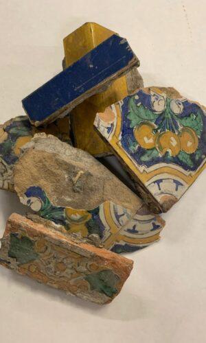 Wells Fargo Original Tiles Broken