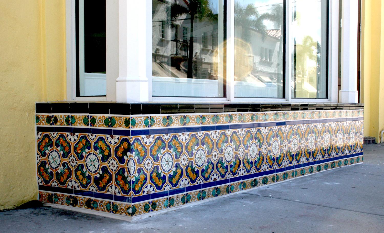 Classic Tiles restored by Mizner Tile Studio