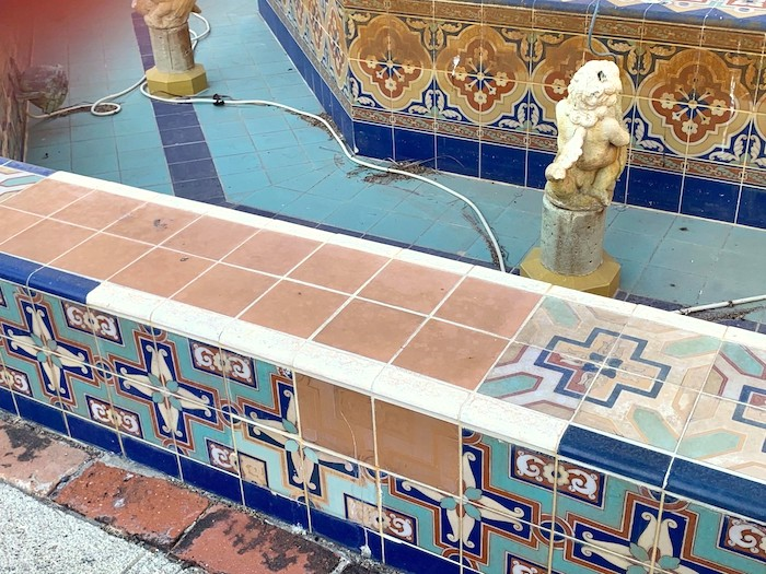 Boca Resort Fountain Before Restoration
