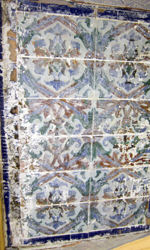 Normandy Tile Damaged